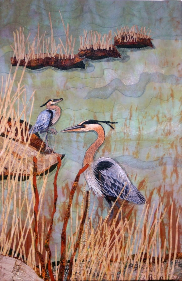 blue herons macdonald